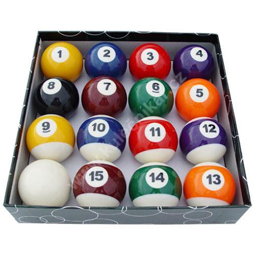 Billiard pool balls STANDARD AA - 57.2 mm