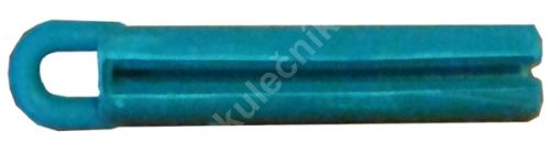 Puller for bonding leather cue - solid rubber green