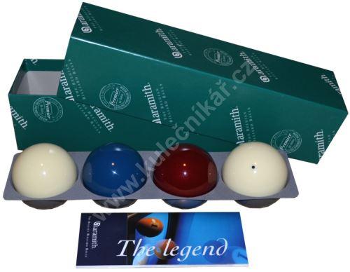 Karambolové balls Aramith Premier 4, set of balls 61.5 mm