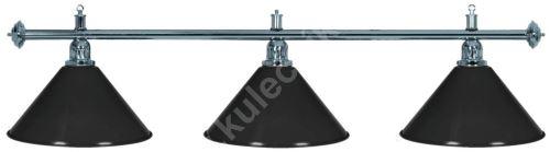 Kulečníková lampa Silver Elegant 3
