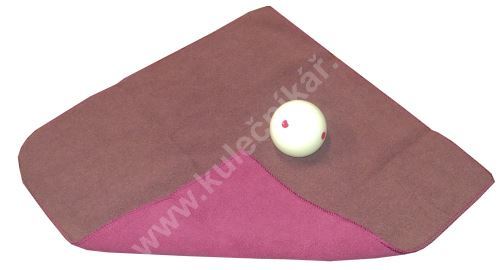 Cleaning cloth ball - Micro Fiber - burgundy