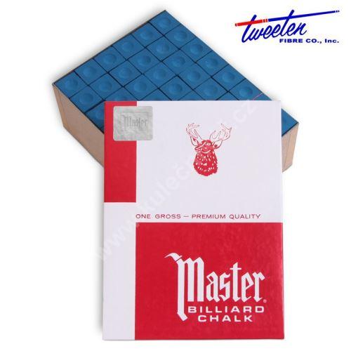 Křídy na tágo MASTER Blue, 144 ks