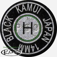 Laminated adhesive skin Kamu Clear Black 13 mm, Medium