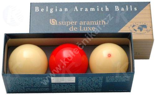 Karambolové balls Aramith Super De Luxe 61.5 mm