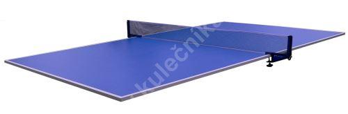 Krycí pingpongová deska Modrá, stolní tenis