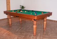QUEEN Billiards Pool 8 feet, 1-piece slate, 4 feet