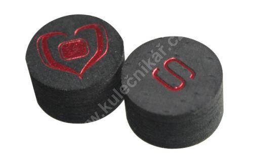 Vrstvené kůže Black Heart Billiards Tips