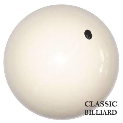 Náhradní karambolová koule BCB bílá s tečkou 61,5mm