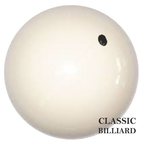 Spare karambolová ball BCB white dot with 61.5 mm