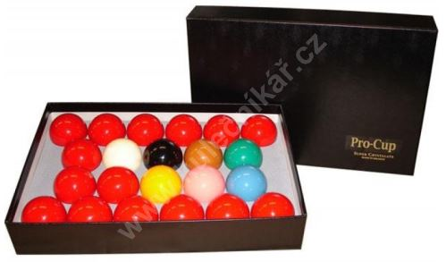 Snooker Balls Aramith Super Crystalai, 52.4 mm