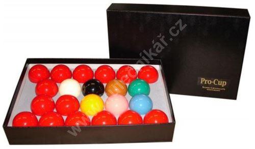 Snookerové koule Aramith Super Crystalate 52,4 mm