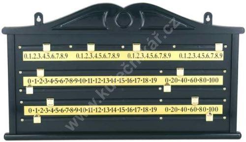 Počítadlo Snooker, PVC Black