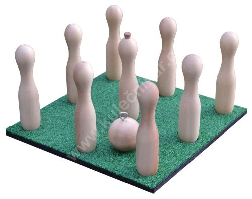 Spare board playing surface - Russian hanging bowling