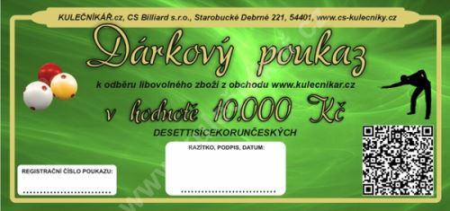 Gift Voucher CZK 10,000, -