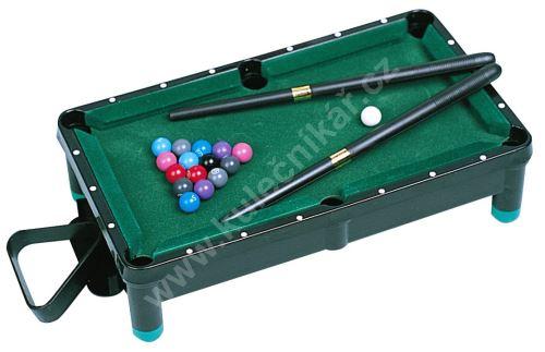 Mini pool - funkční replika poolového stolu