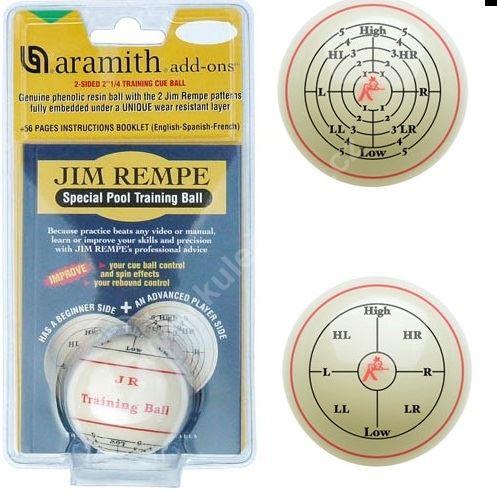 Tréninková poolová koule JIM REMPE - 57,2mm