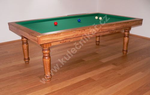 Carom billiards amateur, laminated game board