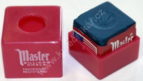 Křída na tágo MASTER Chalk s ochranou krabičkou