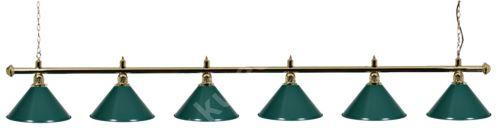 Kulečníková lampa snooker Gold Elegant 6
