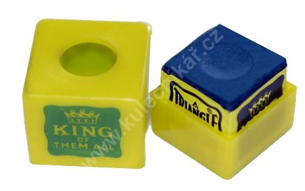Chalk for billiard MASTER Chalk box of protection