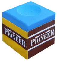 Billiard cue chalk PIONEER, blue