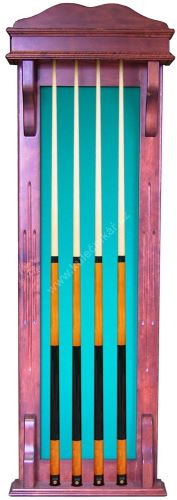 Wall-mounted rack STANDARD for 4 cues
