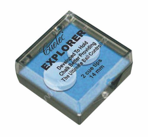 Vrstvená lepící kůže CUETEC EXPLORER KL2 - 14 mm