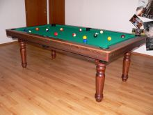 Amateur snooker pool billiards 8 feet, slate board