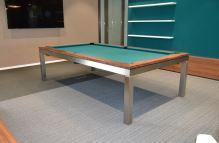 Kulečník pool billiard GENTLEMAN 8ft, nerez