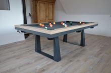 Kulečník Pool billiard CAVALIER 8 FT - jídelní stůl