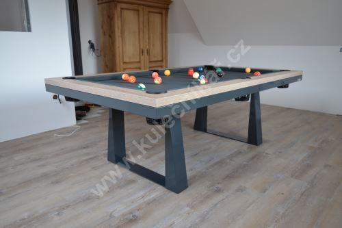 Kulečník Pool billiard CAVALIER, lamino - jídelní stůl