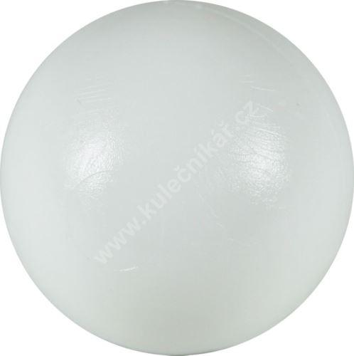Soccer ball on the table - white plastic 34 mm