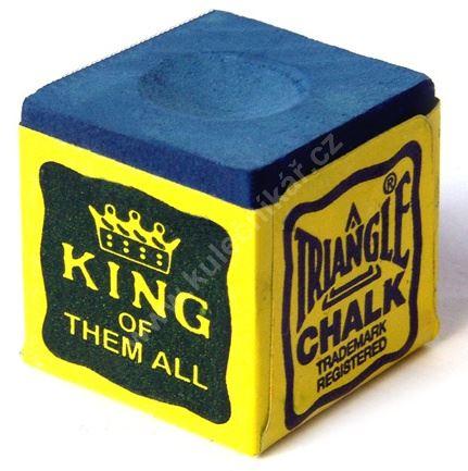 Chalk for billiard TRIANGLE