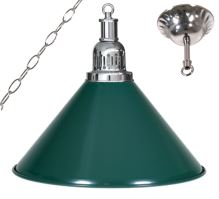 Billiard lamp - silver + silver 1 Sirma