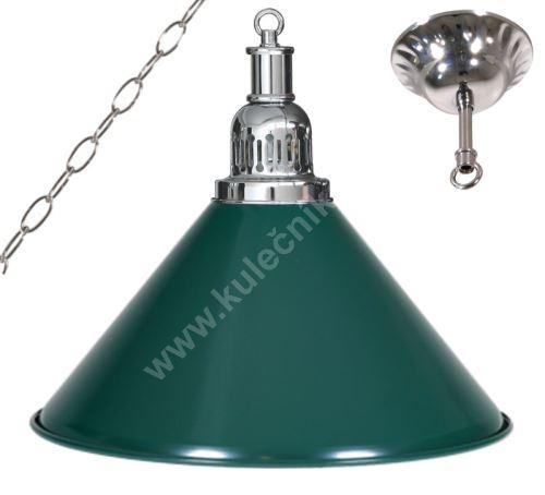 Billiard lamp - silver + silver 1 Sirma