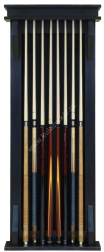 Wall-mounted rack for 10 MODERN cues