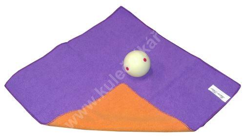Čistící utěrka na koule Micro Fiber, Purple
