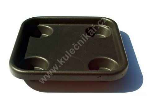 Podnos, nosič koulí na karambol (4 koule, 61,5 mm)