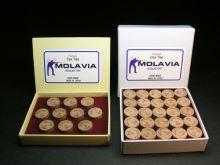 Glued laminated leather MOLAVIA 13 mm, Medium