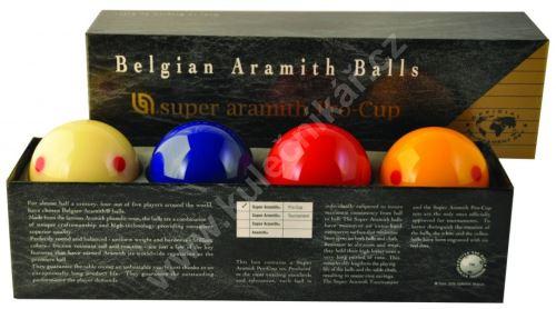 Karambolové balls Aramith Super Pro Cup 4, 61.5 mm