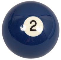 Náhradní koule pool standart jednotlivá č.2 - průměr 57,2mm