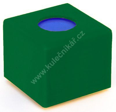 Pouzdro na křídu plastové zelené