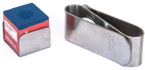 Magnetic chalk holder Cuetec MKC-1, silver