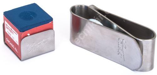 Magnetický držák křídy Cuetec MKC-1, silver