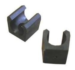 Plastic handle to Stajan on cue