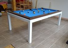 Kulečník Pool billiard FUSHION Steel 8ft, lamino