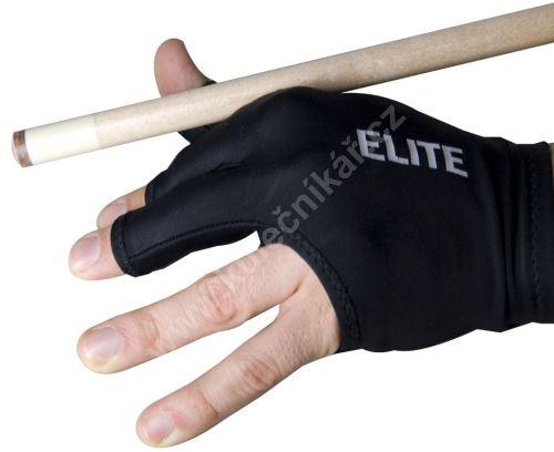Billiard gloves ELITE 3-finger open, blue