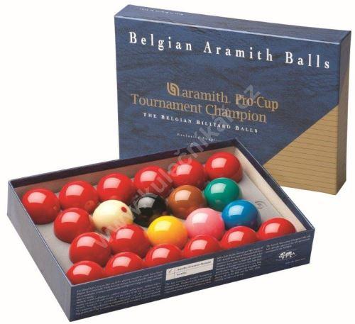 Snookerové koule Aramith Tournament Champion Pro CUP 52,4 mm