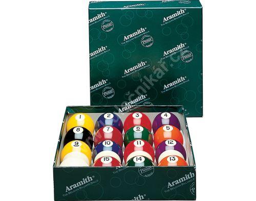 Kulečníkové koule pool ARAMITH Premier 57,2 mm
