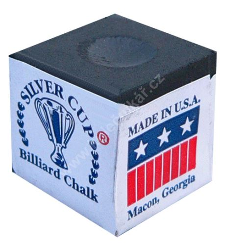 Chalk for billiard SILVER CUP, black